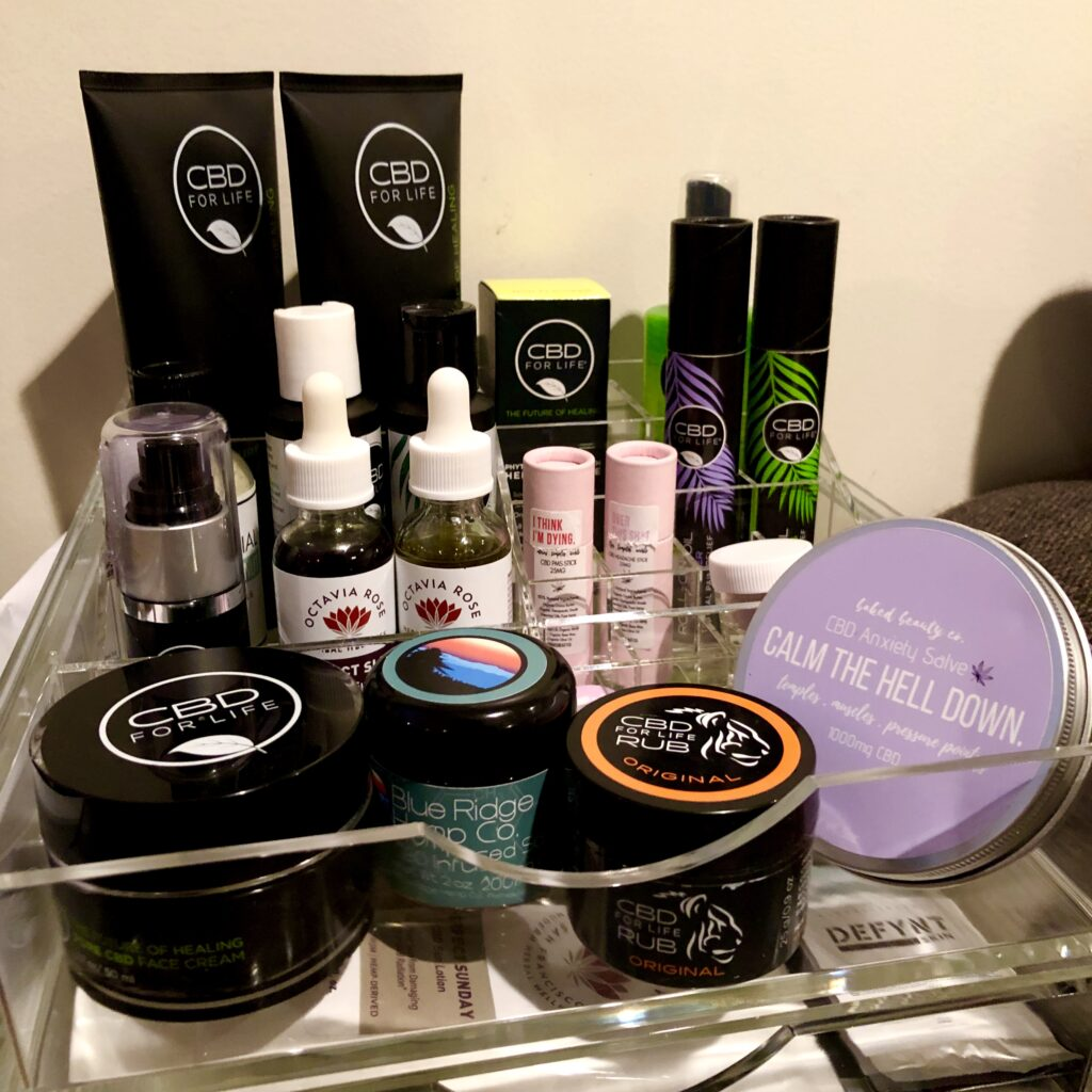 Personal CBD Product Collection